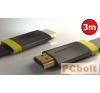 Thonet & Vander Exzellenz HDMI-HDMI 1.4 3D kábel 3m Black kábel és adapter