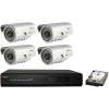 SANAN 4 kamerás SANAN térfigyelő rendszer