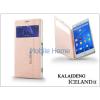 Kalaideng Sony Xperia Z3 (D6603) flipes tok - Kalaideng Iceland 2 Series View Cover - golden