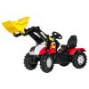 Rolly Toys Rolly FarmTrac Steyr CVT 6230 pedálos markolós traktor