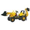 Rolly Toys Rolly Junior JCB pedálos markolós traktor exkavátorral