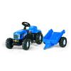 Rolly Toys Rolly Kid New Holland T 7040 pedálos traktor utánfutóval