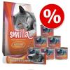 Smilla száraz- & nedvestáp próbacsomag 2,4 kg + paszta - Szett 2: multivitamin-pasztával