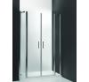 Roltechnik TDN2/1200 kétszárnyas nyitható zuhanyajtó kád, zuhanykabin