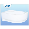 H2O Fortuna 150x100 aszimmetrikus kád