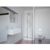 Sanotechnik Sanotechnik Smartflex zuhanyfülke harmónika ajtó Cikkszám: D1291FR - jobbos kivitel