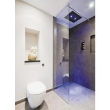 Aquatek Aquatek Oasis F1 100/200 walk in zuhanykabin kád, zuhanykabin