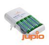 Jupio Compact Charger incl. 4x AA Direct Power univerzális akkumulátor töltő