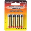 VAPEX AA PLUS Alkaline 4db tartóselem