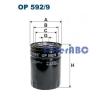 Filtron OP 592/9 olajszűrő
