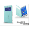 Kalaideng Sony Xperia Z3 (D6603) flipes tok - Kalaideng Iceland 2 Series View Cover - turquoise blue