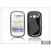 Haffner Samsung S6810 Galaxy Fame szilikon hátlap - S-Line - fekete