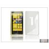 Haffner Nokia Lumia 920 szilikon hátlap - S-Line - átlátszó