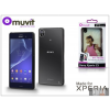 Made for Xperia MUVIT Sony Xperia Z3 (D6603) hátlap - Made for Xperia Muvit My Frame - black/clear