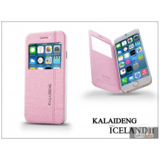 Kalaideng Apple iPhone 6 flipes tok - Kalaideng Iceland 2 Series View Cover - pink tok és táska