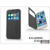 Kalaideng Apple iPhone 6 Plus flipes tok - Kalaideng Iceland 2 Series View Cover - black