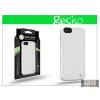 Gecko Apple iPhone 5/5S szilikon hátlap képernyővédő fóliával - Gecko Glove - white