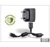 Sony Ericsson micro USB gyári hálózati töltő - 5V/0,85A - EP800+EC450 GreenHeart (csomagolás nélküli) mobiltelefon kellék