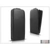 Haffner Slim Flexi Flip bőrtok - Samsung S7390 Galaxy Fresh - fekete