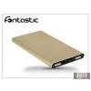 Fontastic Univerzális hordozható, asztali akkumulátor töltő USB - micro USB csatlakozóval - Fontastic PB3500 PowerBank - 3500 mAh - gold