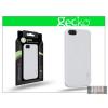 Gecko Apple iPhone 5/5S hátlap képernyővédő fóliával - Gecko Profile - gloss white