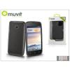 Muvit Huawei Ascend Y330 hátlap - Muvit miniGel - smoke black