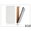 Haffner Slim Flip bőrtok - Samsung i9300 Galaxy S III - fehér