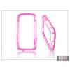 Haffner Samsung i9300 Galaxy S III védőkeret - Bumper - pink/átlátszó