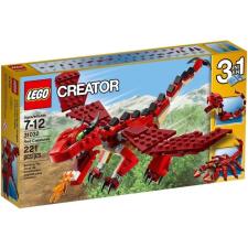 LEGO Creator Tűzvörös teremtmények 31032 lego