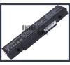 Samsung RV409I 4400 mAh 6 cella fekete notebook/laptop akku/akkumulátor utángyártott samsung notebook akkumulátor