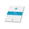 BOXER Gyûrûs könyv betét, A4, vonalas, 50 lap, BOXER, fehér