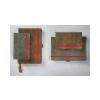 SIGEL Jegyzetfüzet, exkluzív, A5, vonalas, 194 oldal, SIGEL Conceptum Vintage, barna