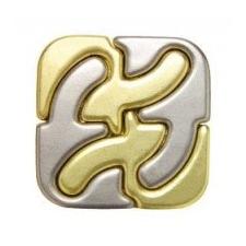 Eureka ! Cast Gold - Square Ördöglakat puzzle, kirakós