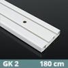 Mennyezeti műanyag karnis (GK2) - 2 soros - 180 cm