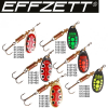 EFFZETT STANDARD SPINNER BLACK RED / 10G