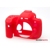 EasyCover szilikon védőtok Canon EOS 5D Mark III piros