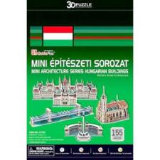 3D 3D puzzle Mini magyar épületek 155 db-os puzzle, kirakós