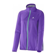 Salomon Start Jacket W Női futódzseki, Ibolya, XS