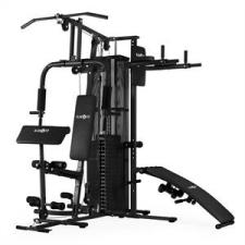 KLARFIT Ultimate Gym 5000, multifunkciós fitnesz állomás, fekete fitness eszköz