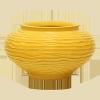 Zsolnay 5561/15K virágtartó késes
