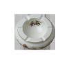Zsolnay 9100/178 HAMUTÁL TAVASZ tányér és evőeszköz