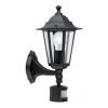 EGLO 22469 - LATERNA 4 szenzoros lámpa 1xE27/60W fekete