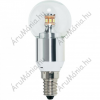 Renkforce LED 92 mm Renkforce 230 V E14 3.6 W = 25 W Csepp forma, tartalom: 1 db, 8632c62b