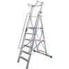 KRAUSE - Stabilo lépcsőfokos állólétra nagy dobogóval és kapaszkodókerettel 7 fokos (profi)