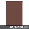 Mini roló, csokoládébarna, ablakra: 61,5x150 cm
