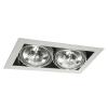 Lámpatest álmennyezeti AR111 12V 2x50W MATEO szürke Kanlux