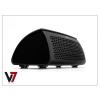Bluetooth Bluetooth aktív hangszóró + asztali kihangosító + külső akkumulátor - V7 SP6000-BT NFC - fekete
