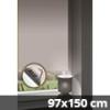 Hőszigetelő thermo mini roló, fehér, ablakra: 97x150 cm