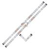 EGLO 92052 LED szalag szett 2x2,16W 12V RGB színváltós 2x30cm, távkapcsolóval