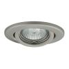 KANLUX Lámpatest álmennyezetbe illeszhető GU10 230V DELE billenő matt króm AL-205 Kanlux
